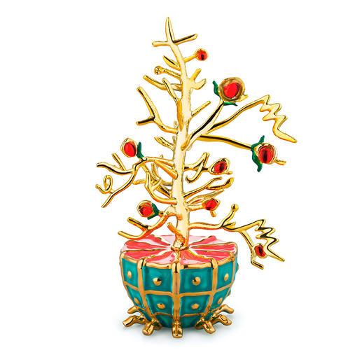 Alessi decoratieve ballen Fleurs de Jori Kunstig met de hand gedecoreerde porseleinen ballen.