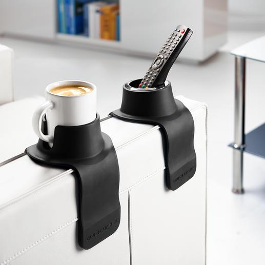 CouchCoaster® Geniaal praktisch en comfortabel: de bekerhouder voor de bank.