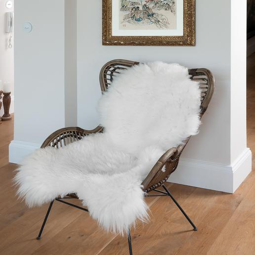 Luxe-schapenvacht Zeer volumineus, met een heel sterke, dichte pool en in XL-formaat.