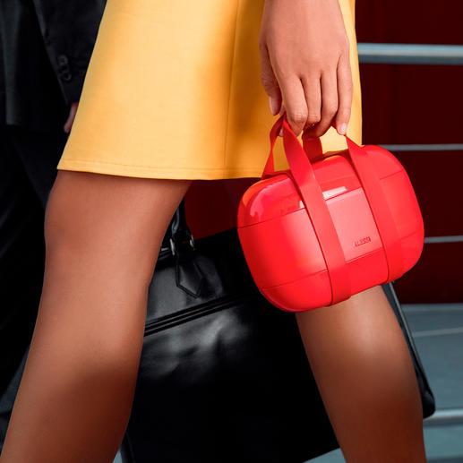 Designerlunchbox It-Bag voor uw lunch – op kantoor en op reis. Van Alessi.