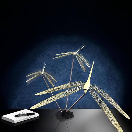Balance-object dragonfly