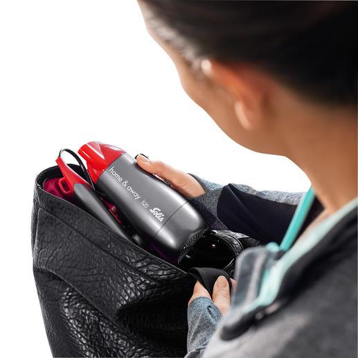 Ingeklapt perfect voor in de reis- en sporttas.