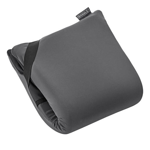 Dubbelgevouwen hebt u een 8 cm dik visco-comfort-hoofdkussen.