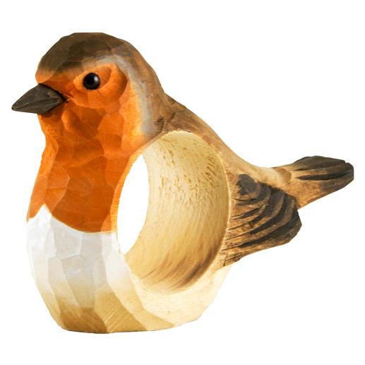 Servetringen vogels, set van 6