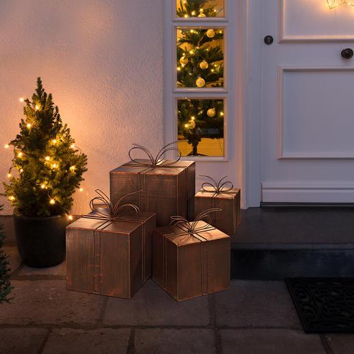 Decoratieve cadeautjes van metaal - Hemelse kerstpost. Mooi voor binnen en buiten.