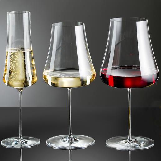 Wijnglas Stem Zero, set van 2 Bijzonder fijn en elegant, maar desondanks zeer breukbestendig.