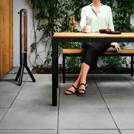 Design-terrasverwarmer HEATUP - Schitterende, praktische terrasverwarmer in Scandinavisch design. Van evasolo/Denemarken.