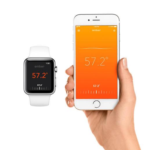 Gemakkelijk te bedienen met smartphone of -watch en gratis app.