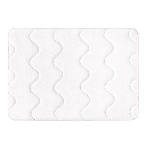 Antibacteriële badmat met traagschuim Superzacht, absorberend, sneldrogend en antibacterieel.