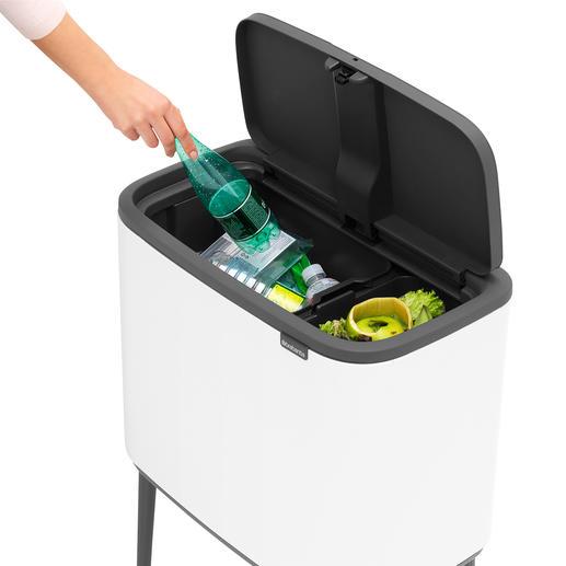 Met 2uitneembare inzetten voor het scheiden van het afval.