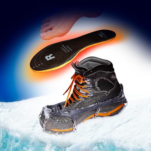 chili-feet-warmtezolen, paar Zet bewegingsenergie om in warmte, bij elke stap. Zwitsers kwaliteitsproduct.