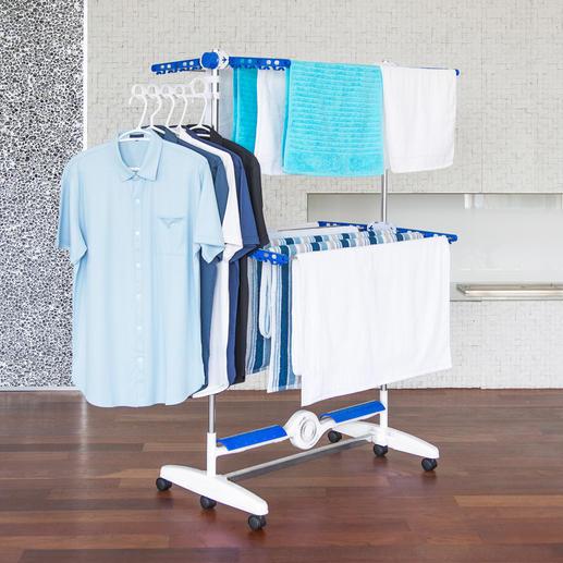 NuBreeze droogrek - Heerlijk in de lucht gedroogd wasgoed: u hoeft er niet meer voor naar buiten.
