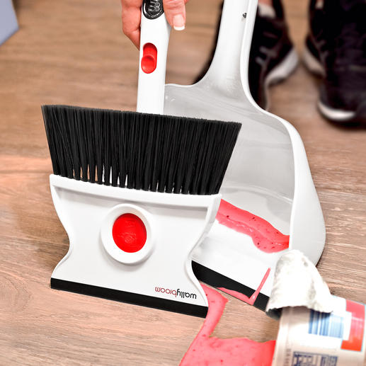 Met de rubberen trekker kunt u vloeistoffen perfect weghalen.