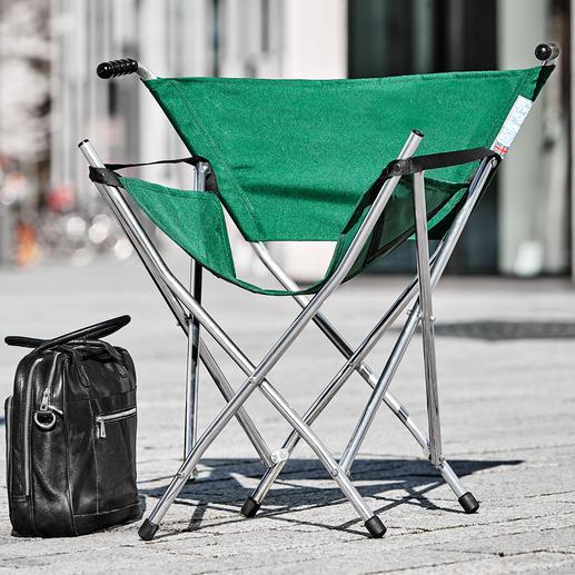 Aluminium klapstoel - Het perfecte stoeltje voor een festival, paardenrace, picknick, voor het vissen of voor op het strand.