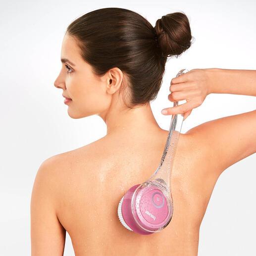 Beurer elektrische lichaamsborstel Verzorg uw huid perfect en heel praktisch direct onder de douche of in bad.