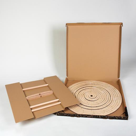 Na gebruik compact op te bergen in de 5cm platte verpakking.