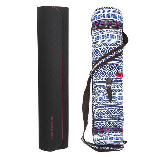 Inclusief een stijlvolle en praktische katoenen tas.