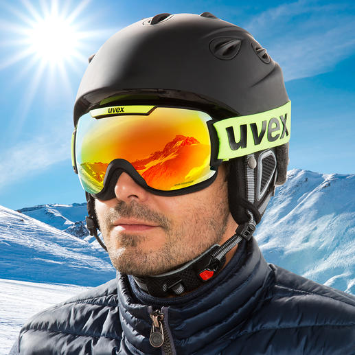 uvex skibril downhill 2000 CV De uvex single lens-skibril met de nieuwste colorvision®- en supravision®-technologie. Winnaar van de ISPO Award 2019.