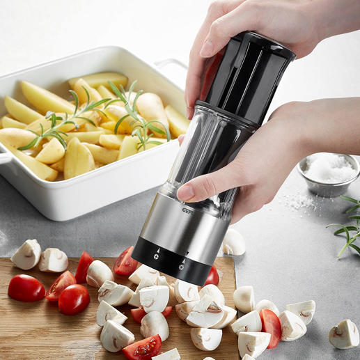 Groente-/fruitsnijder Flexicut - Groente en fruit perfect in vier of acht stukjes snijden.