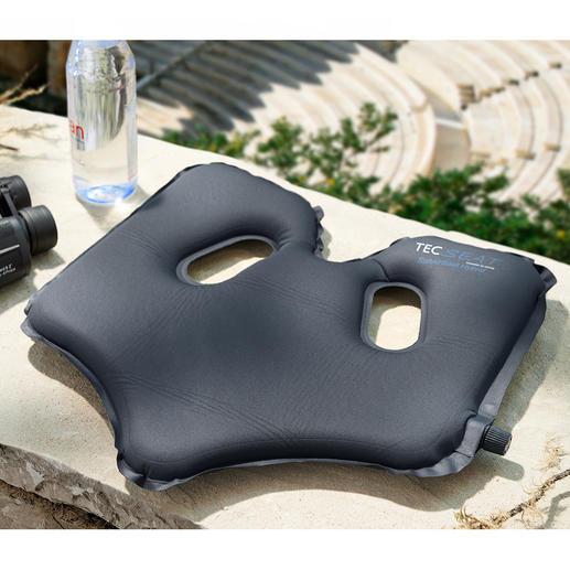 SoftAirSeat Het gepatenteerde, zelfopblazende design zorgt overal voor optimaal zitcomfort.