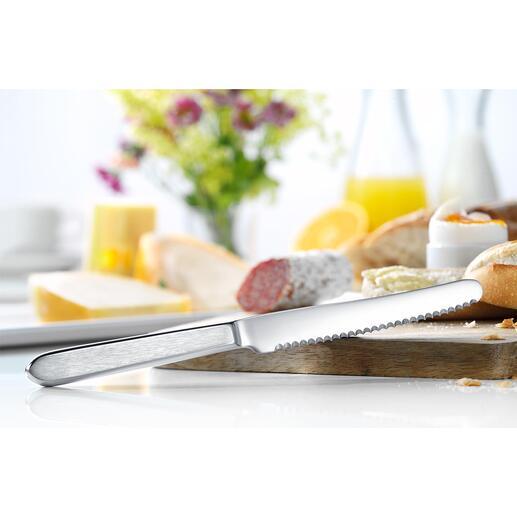 Broodmesje, set van 6 Het perfecte ontbijtmes: ideaal om mee te snijden en te smeren.