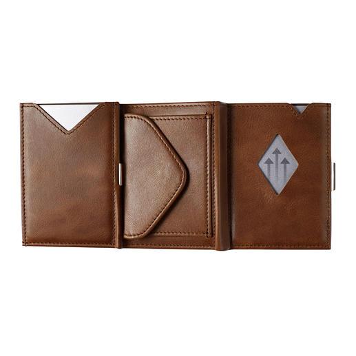 Naar keuze ook als Multi Wallet met geïntegreerd kleingeldvak te bestellen.