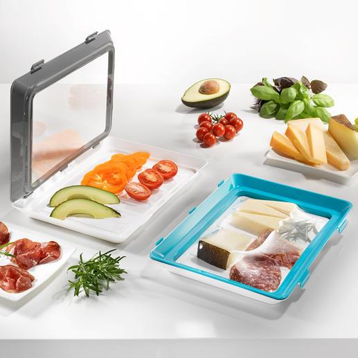 Click & Fresh-vershoudbakje, set van 2 - Het duurzame alternatief voor wegwerpbakjes en -verpakkingen.