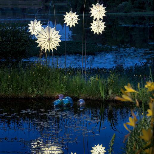 Barlooon weerbestendige lampion Verspreidt een zacht licht – en verweert en verrot niet.