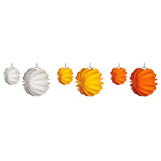wit, geel en oranje