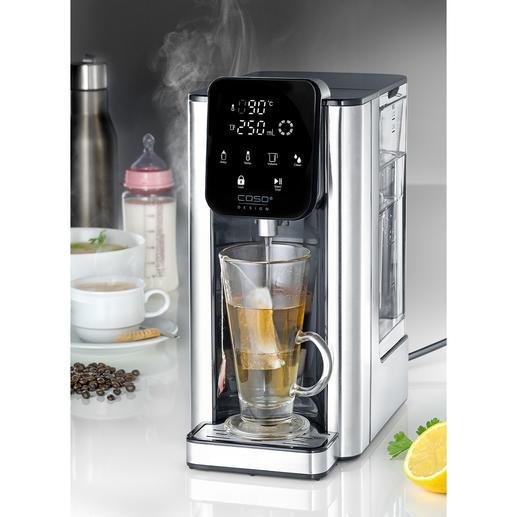 Caso heetwaterdispenser HW 660 Klaar in 5 (!) seconden: voor 1 kopje of voor max. 2,7 liter heet water.