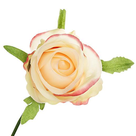 Zelfs van dichtbij zien de bloemhoofdjes er zo echt uit, dat men de neiging heeft eraan te ruiken.