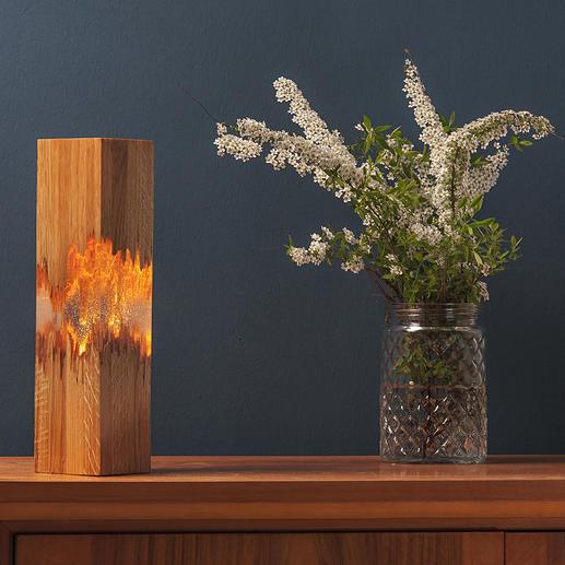 LIGNUM tafellamp De schoonheid van imperfectie– in een heel nieuw licht.