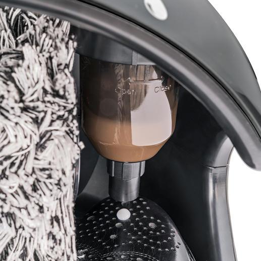 Met ingebouwde schoensmeer-dispenser voor extra verzorging en glans.