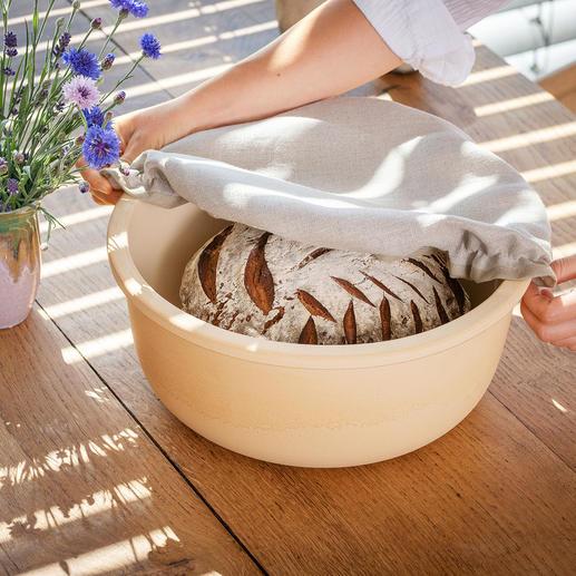 Broodkom van CeraNatur®-keramiek Het keramiek houdt uw brood langer vers en vermindert de kans op schimmelvorming.