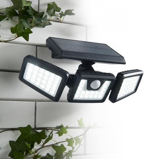 Solar-veiligheidslamp van 1.000 lumen Praktische variabel instelbare solarlamp voor extra veiligheid.
