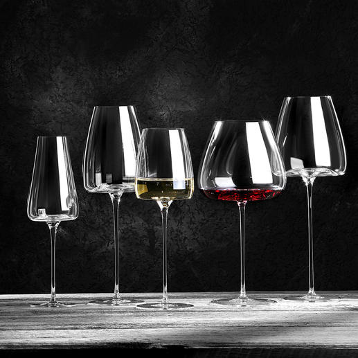 Wijnglas Vision, set van 2 Om optimaal mee te genieten: glazen gebaseerd op het karakter van de wijn.