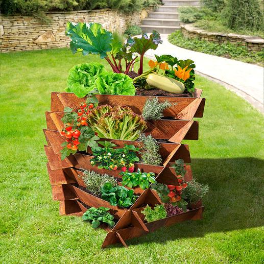 Ook ideaal voor het verbouwen van groente.
