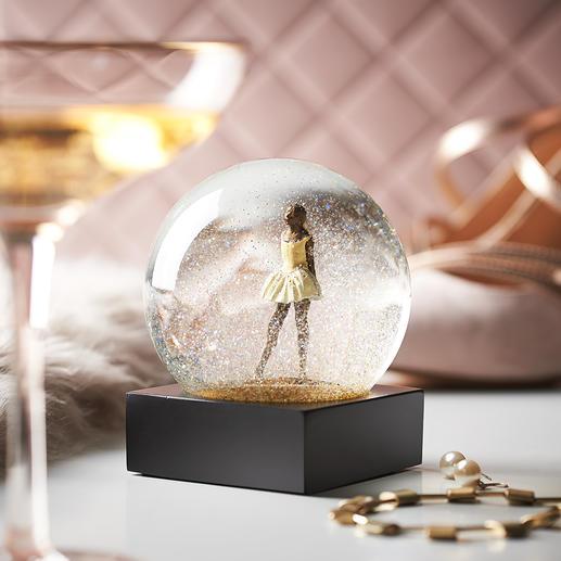 Chique sneeuwbol Een betoverende blikvanger op het dressoir, het bureau of op de boekenplank. Van CoolSnowGlobes®, Vermont/USA.