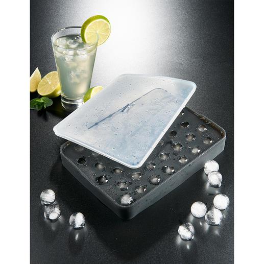 IJsbolletjesvorm Fonkelende ijsparels – u maakt ze heel gemakkelijk en zonder gedoe.