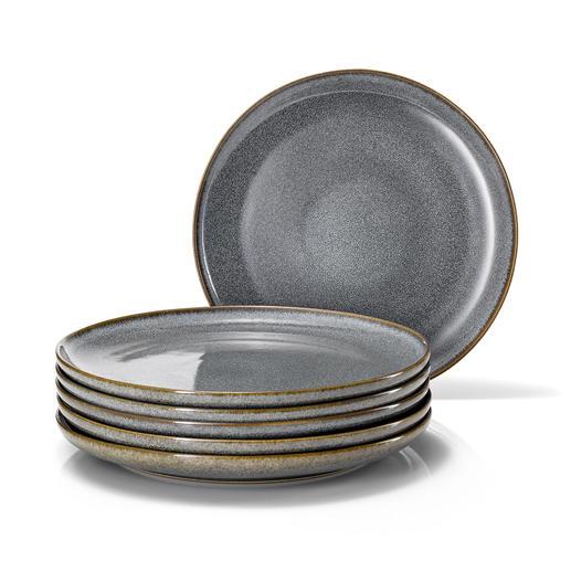 Plat bord, set van 6