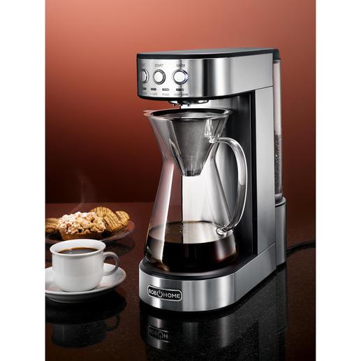 Pour-over-koffiezetapparaat Moderne pour-over-technologie: voor aromatische filterkoffie die smaakt alsof hij met de hand is gezet.