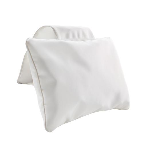 Badkussen met tegengewicht, wit