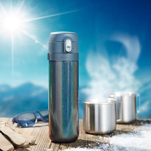 Thermo-theemaker De betere theemaker voor onderweg: met gepatenteerde zettijd-functie.