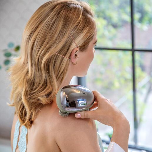 MiniScalp massageapparaat Weldadige massage als door een masseur. Gewoon aan uw bureau, onderweg of zelfs onder de douche.