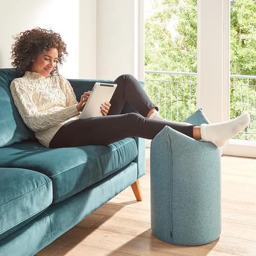 Ook ideaal om tijdens het relaxen, tv-kijken of lezen ontspannen de benen op te leggen.