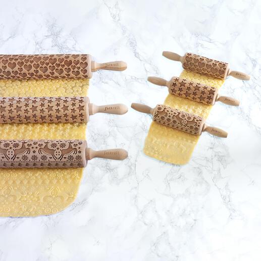 Met deze geniale 3D-deegrollers maakt u in een handomdraai de mooiste baksels.
