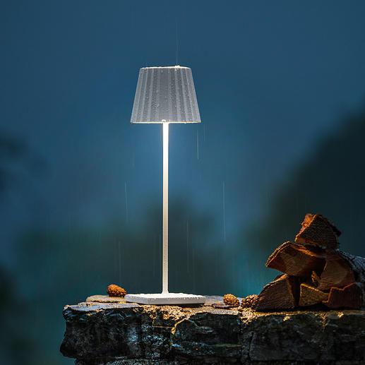 Oplaadebar design tafellamp Mooi, eenvoudig en met een sierlijk design. Voor binnen en buiten.