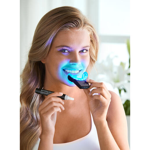SmilePen Power Whitening-set Stralend witte tanden op professionele wijze. Gemakkelijk thuis.