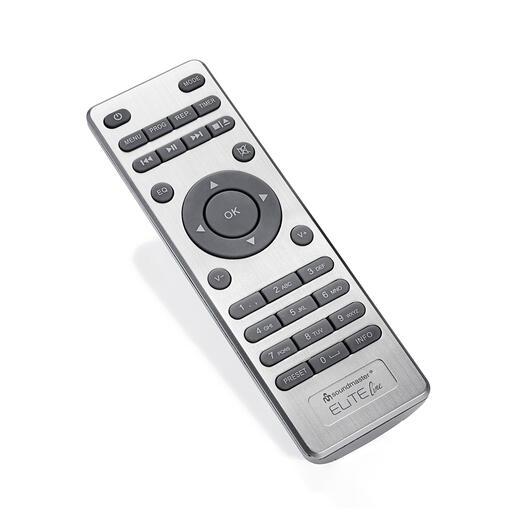 Eenvoudig te bedienen met de meegeleverde afstandsbediening (of gebruik uw smartphone of de knoppen op het apparaat).