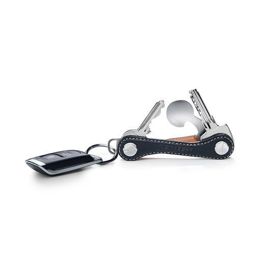 Uw sleutels kunnen met één handgreep in- en uitgeklapt worden.
